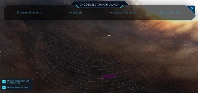 sector selection
