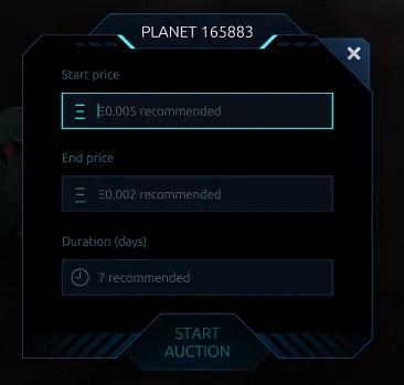 auction planet