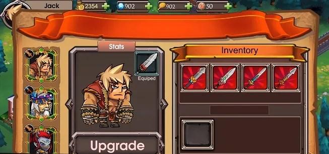 unique hero stats