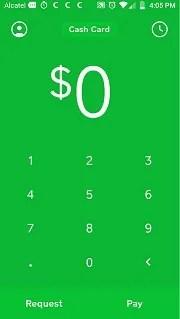 cash app account