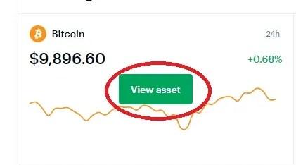 view asset