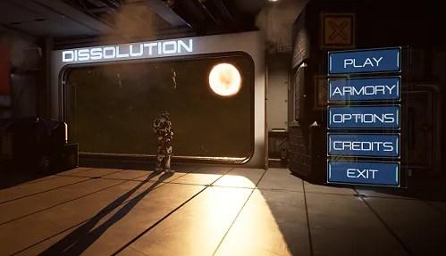 dissolution demo screen
