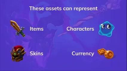 items on the blockchain