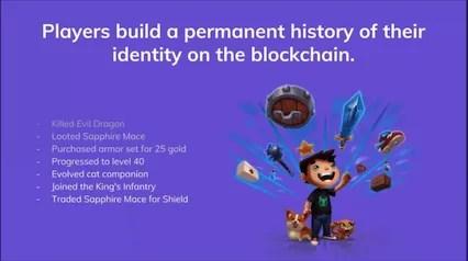 blockchain gamer identities