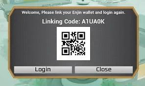 enjin QR code