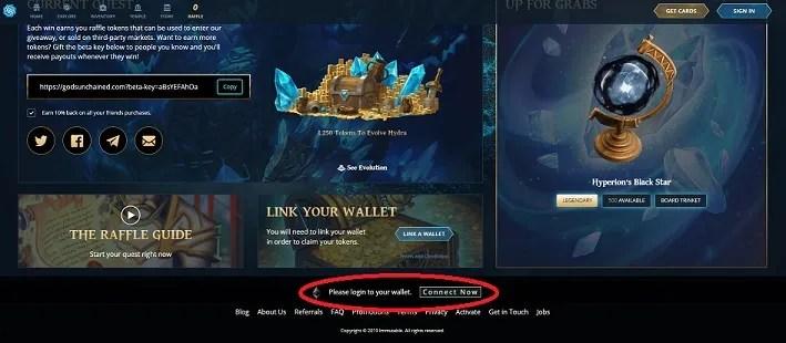 link ethereum wallet