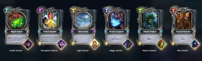 choose a deck
