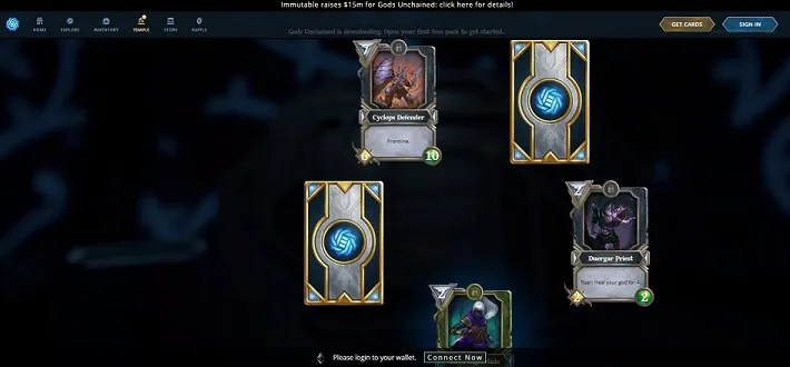 reveal cards