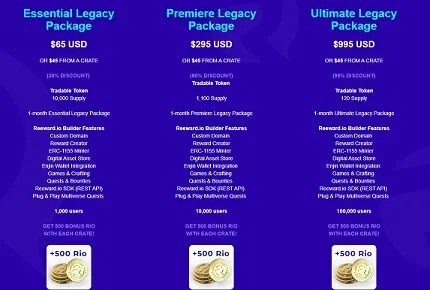 legacy packages