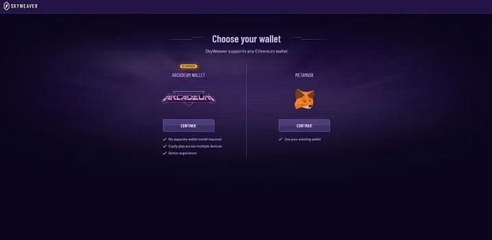 choose wallet