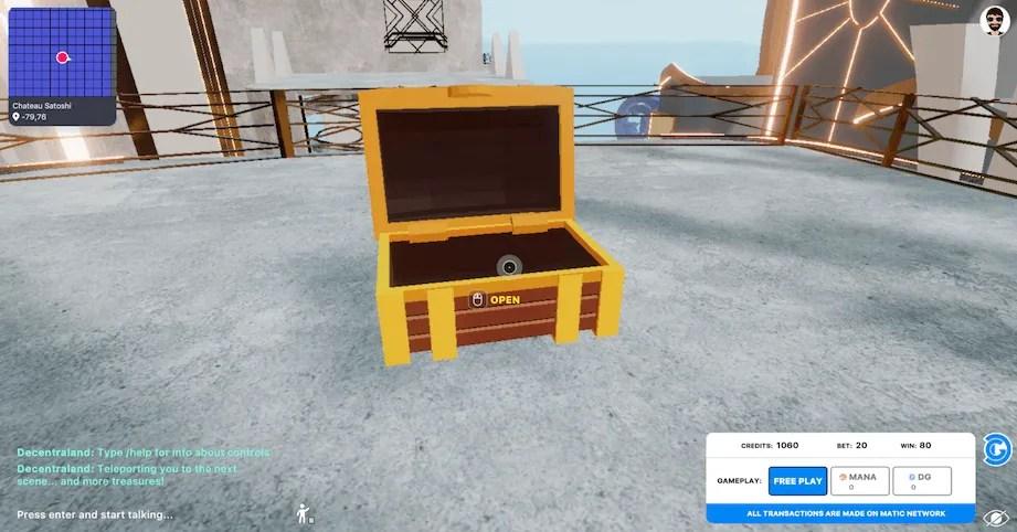 empty chest