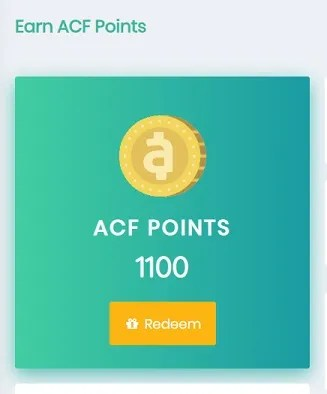 acf points