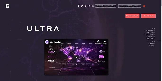 ultra blockchain