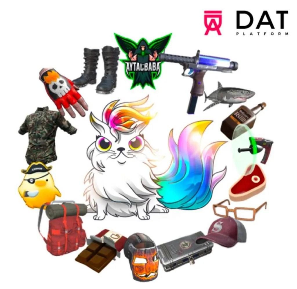 reality gaming DAT platform