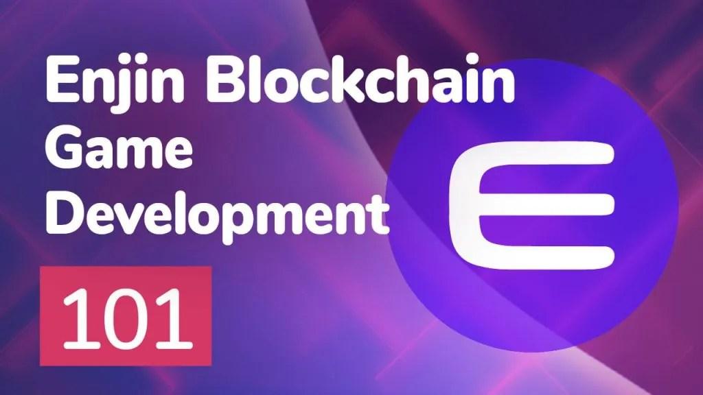 enjin blockchain game development