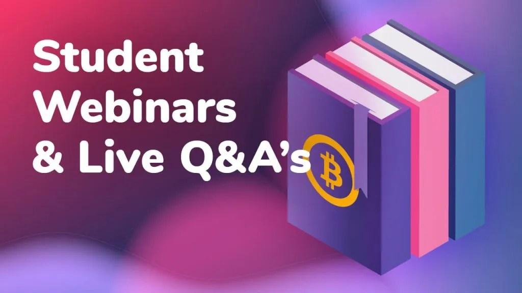 student webinars q&a