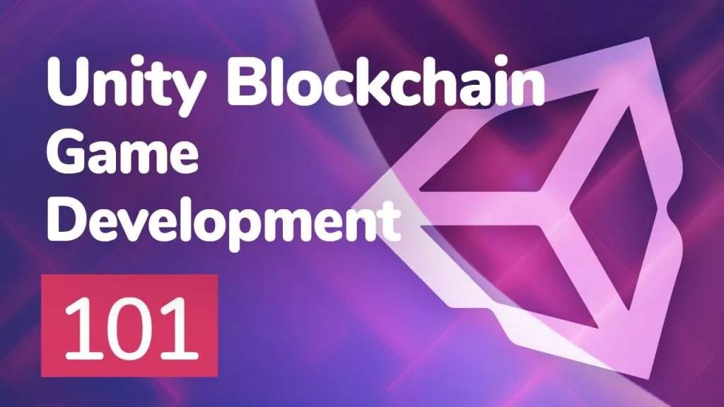 unity blockchain game development 101