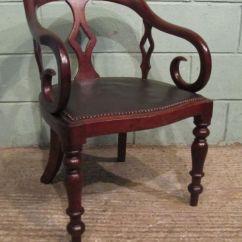 Antique Mahogany Office Chair Brown Adirondack Chairs Plastic William 1v Desk C1830 207161 Www