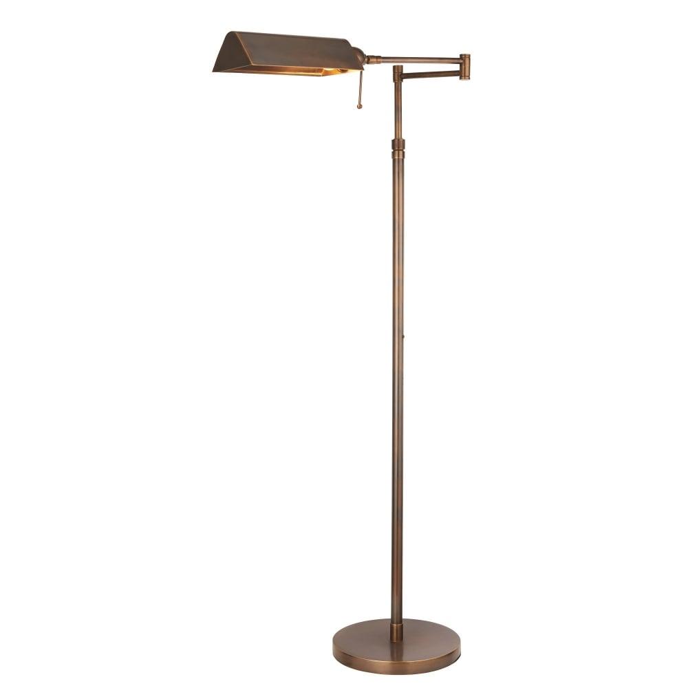 Interiors 1900 Clarendon Single LED Light Task Floor Lamp