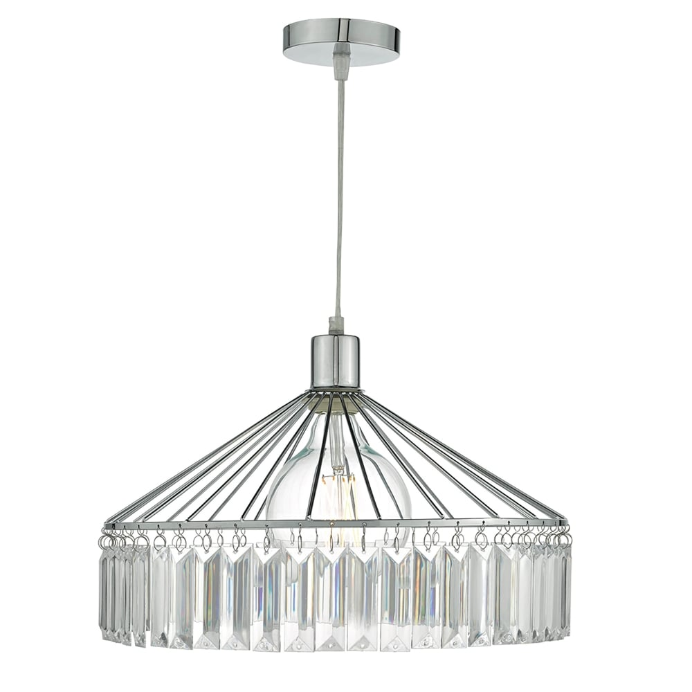 Dar Lighting Rula Easy Fit Ceiling Pendant Shade in