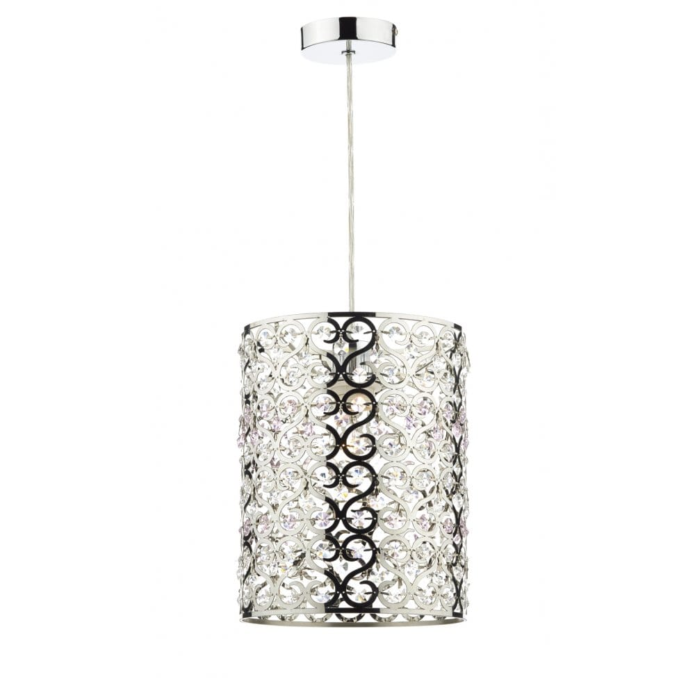 Dar Lighting Octagon Non-Electric Easy Fit Shade in