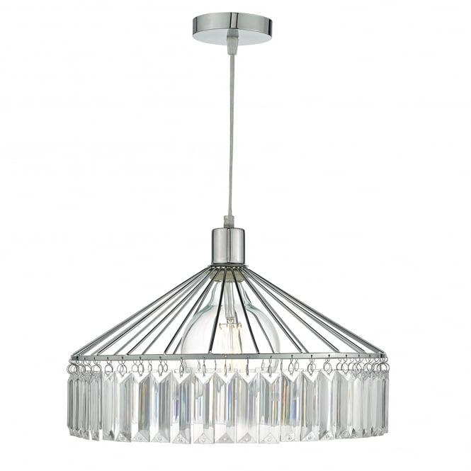 Dar Lighting Rula Easy Fit Ceiling Pendant Shade in