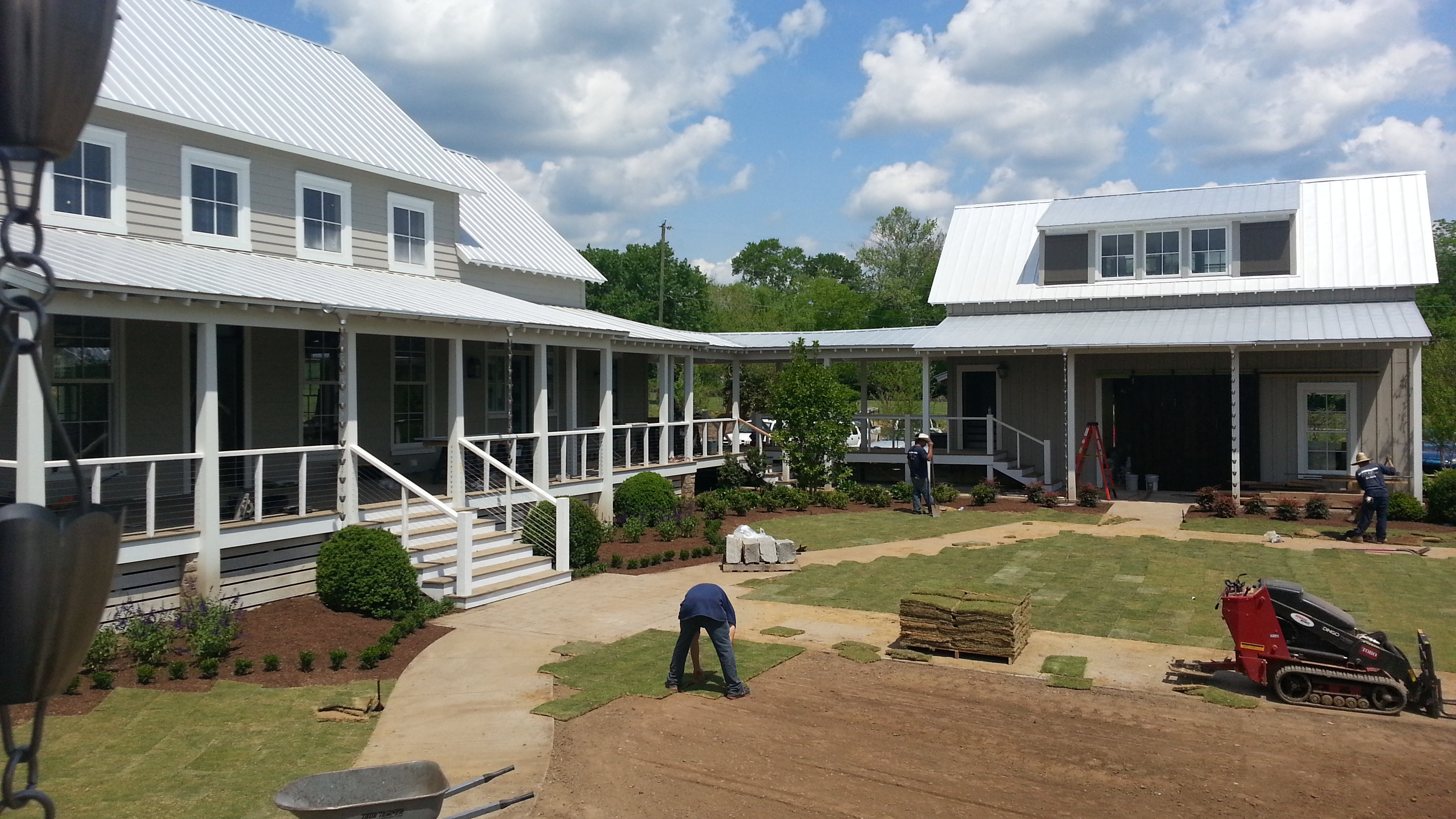 Fontanel Expands With Southern Living Idea House Castle Custom