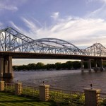 Check out Riverside Park and enjoy a walk along the River.
