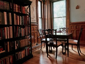 The Library of Castle La Crosse
