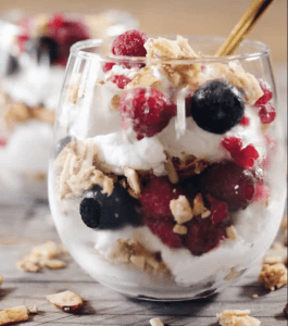 Seasonal Fruit Parfaits