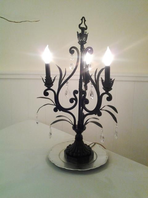 Black Chandelier Lamp Thejots Net