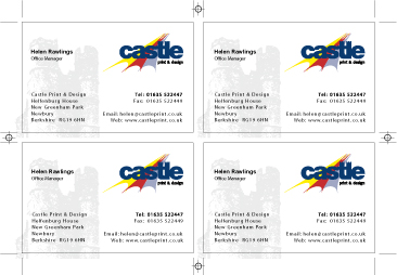 how to design a business card designing a business card