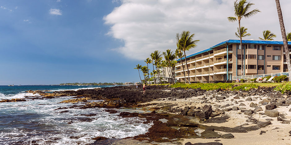 KailuaKona Oceanfront Condo  Kona Reef Resort  Castle