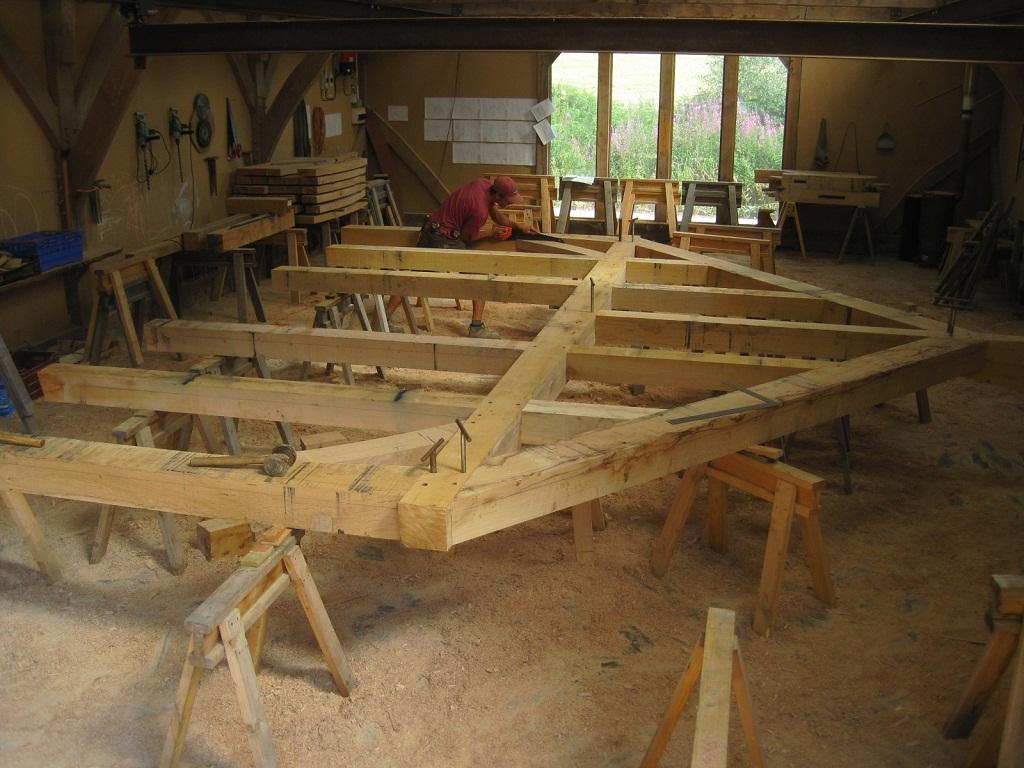 Oak Frame Blog  The Jowl Post  Timber Frames and more