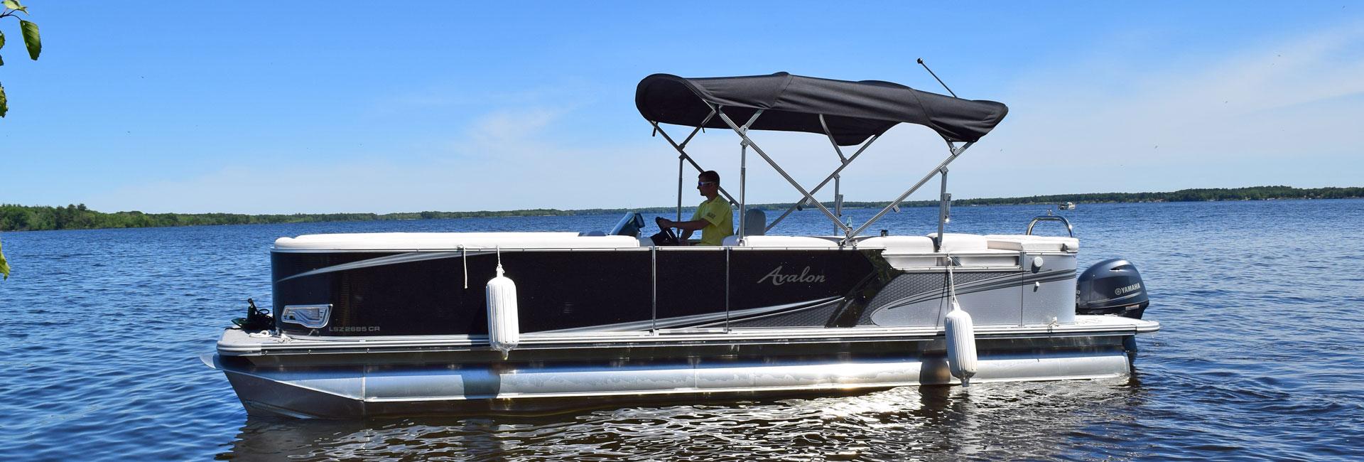 hight resolution of avalon pontoon rentals