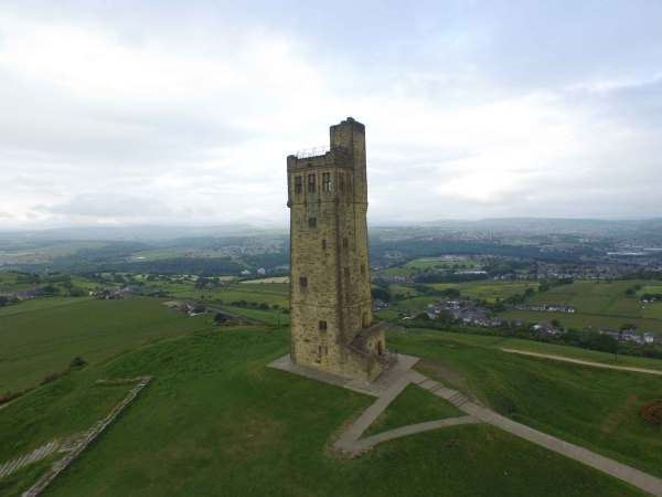 Castle Hill Almondbury Yorkshire Castles Forts and