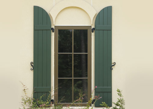 Wood Window Shutters Orange County Los Angeles CA