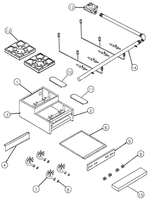 SUFHP Hot Plate Parts