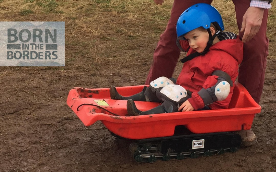 Go Grass Sledging at Born in the Borders