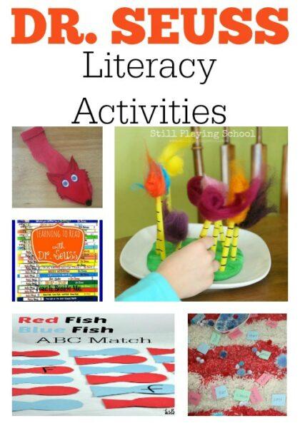 Dr Seuss Literacy Night Activities
