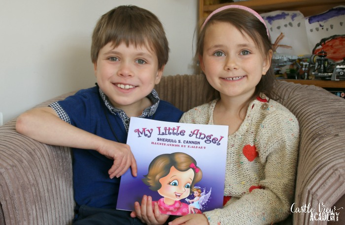 My Little Angel reviewed by the kids of Castle View Academy homeschool