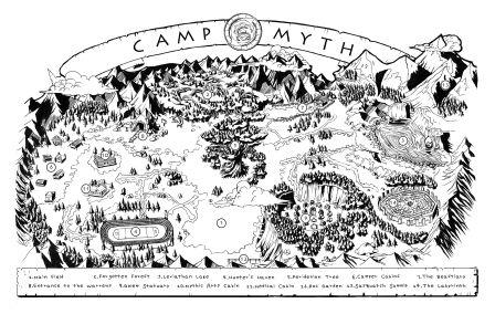 Map of Camp Myth Compressed