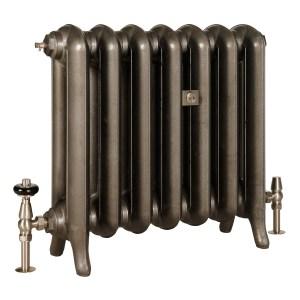 Princess II cast iron radiator in Lacquered Iron