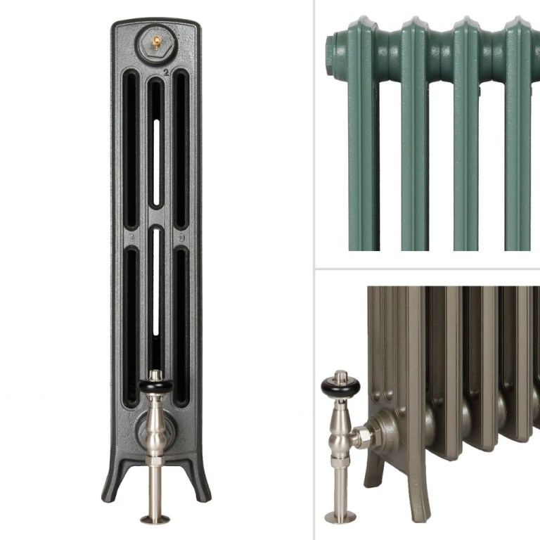 Contemporary column cast iron radiators