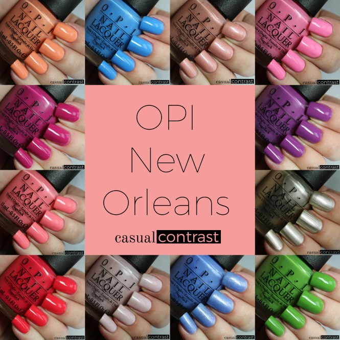 Opi Infinite Shine Spring 2016 Collection Swatch And Learn Lovin