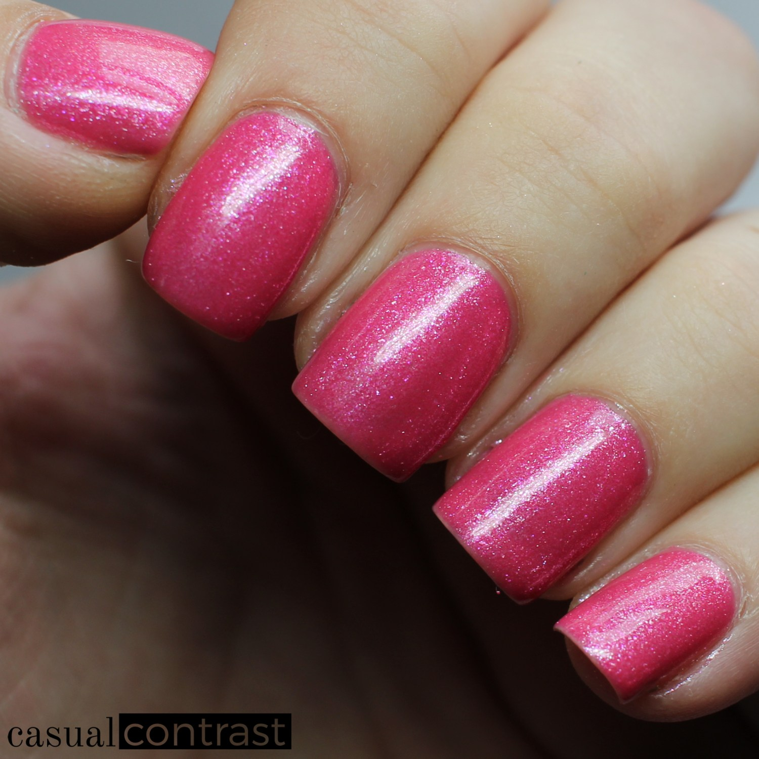 Image of Swatch of Zoya Azalea from the Zoya Petals Collection
