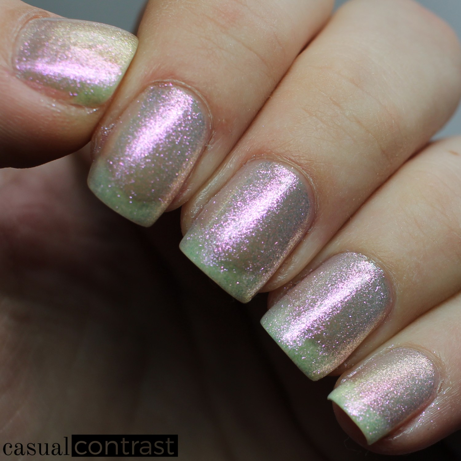 Image of Swatch of Zoya Leia from the Zoya Petals Collection