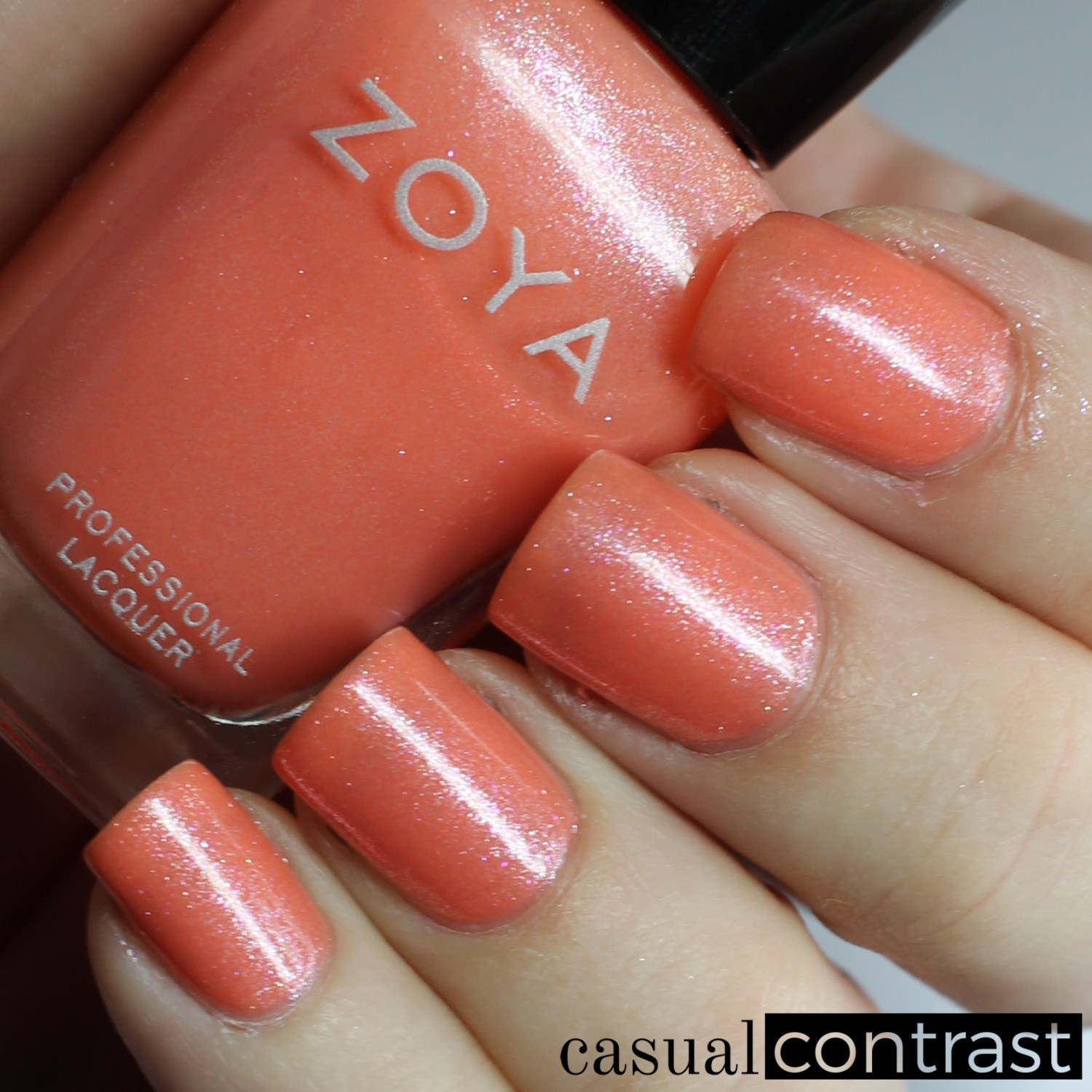 Image of Swatch of Zoya Zahara from the Zoya Petals Collection