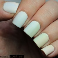 Pastel Gradient Dry Brush Nail Art Manicure 1
