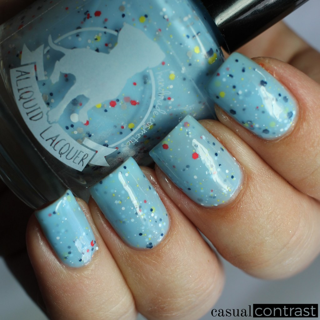ALIQUID Northern Flicker from the ALIQUID Nail Polish Is For The Birds Collection • Casual Contrast